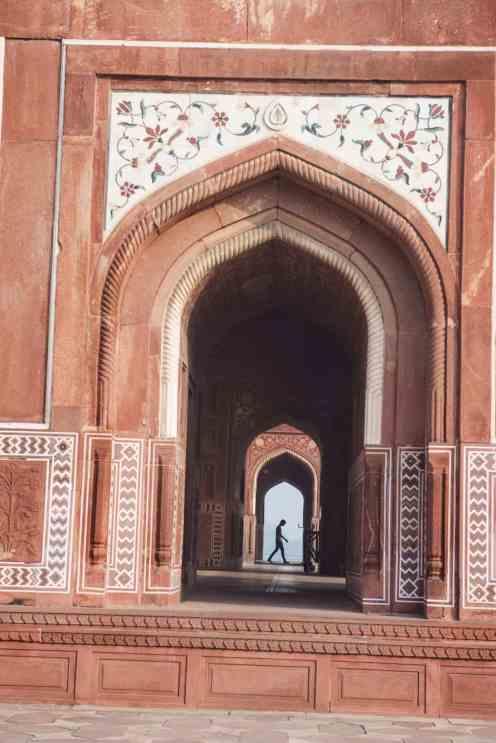 Moskeen i Taj Mahal