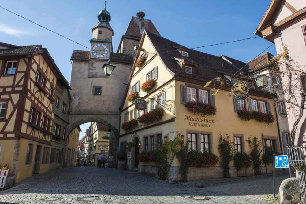 Rothenburg på bilferie