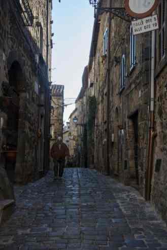 Gamlebyen i Bolsena
