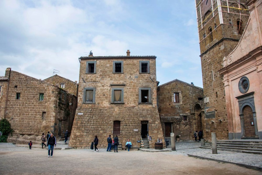 Piazza San Donato i Civita di Bagnoregio