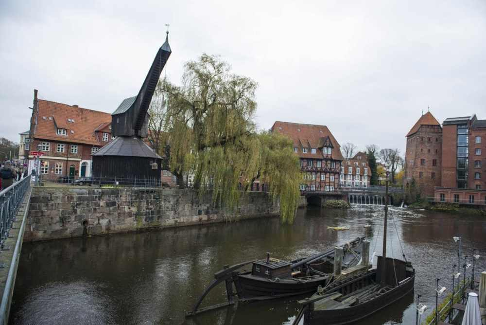 Krana i Lüneburger Hafen