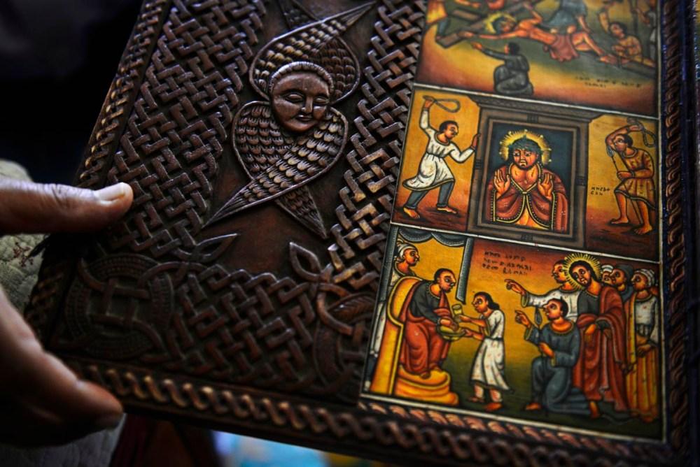 Etiopisk kunst-ikon
