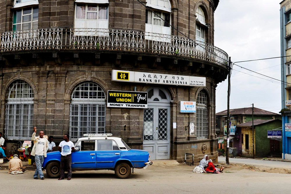 Piazza i Addis Abeba