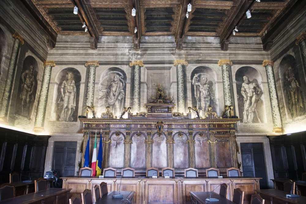 Stanza dei Sindaco i Palazzo dei Priori i Viterbo