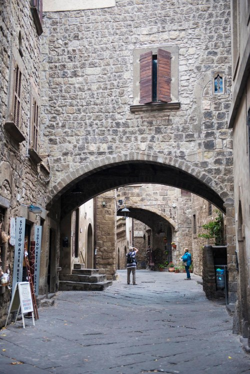 Gamlebyen San Pellegrino i Viterbo