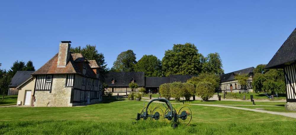 Calvados-gården til Christian Drouin i Normandie