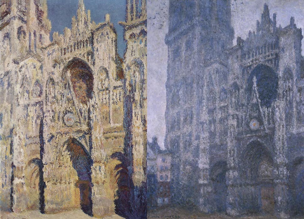 claude monet katedralen i rouen