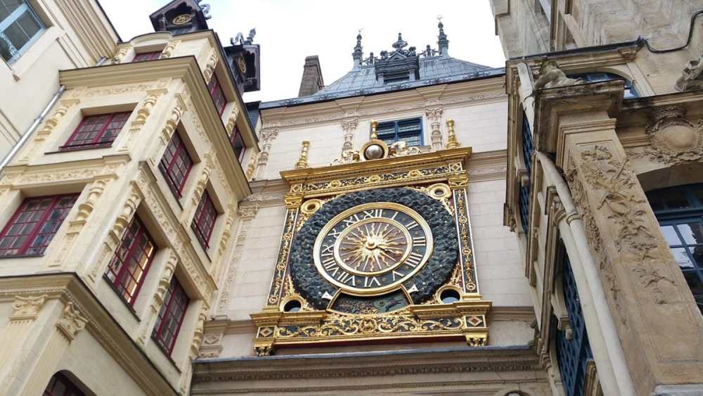 Gros Horloge i Rouen