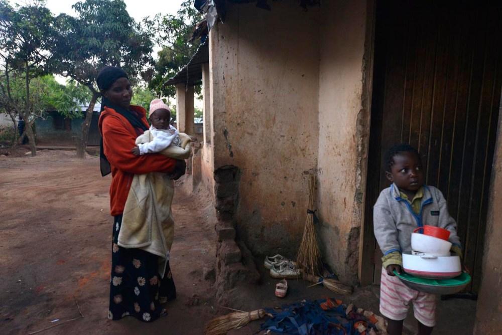 Familie i Area 24 i Lilongwe
