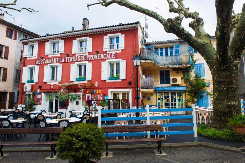 Restauranter i Collobrieres i Provences innland