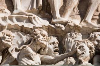 Helvete ifølge fasaden på domkirken i Orvieto
