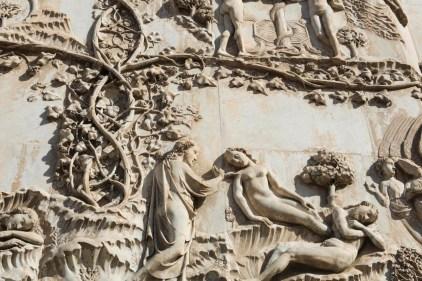 Detalj på Orvieto duomo