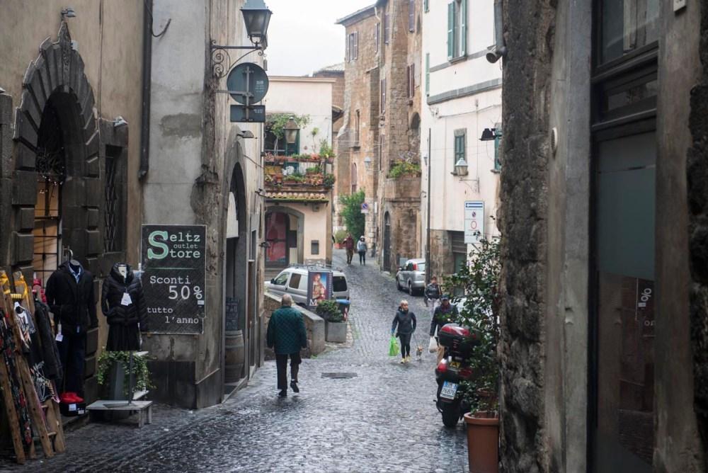 Gamlebyen i Orvieto