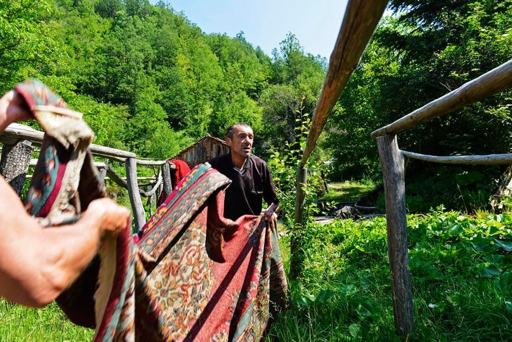 Klær til tørk i Recica Makedonia
