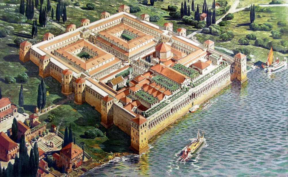 Diokletians palass i romertida