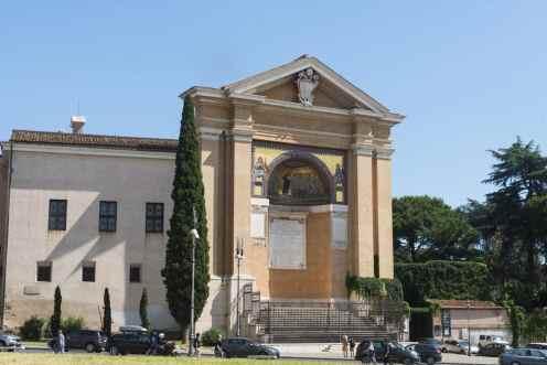 Sideveggen til Scala Sancta i Roma