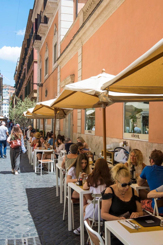 Restauranten Ginger i Roma