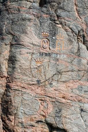 Kongelige monogrammer i Olavsundet
