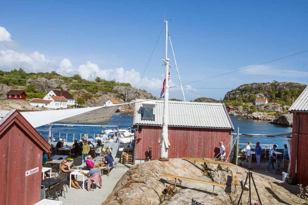 Cafe Verftet i Ny-Hellesund