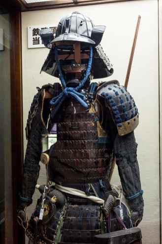 Samurai-rustning i Matsumoto