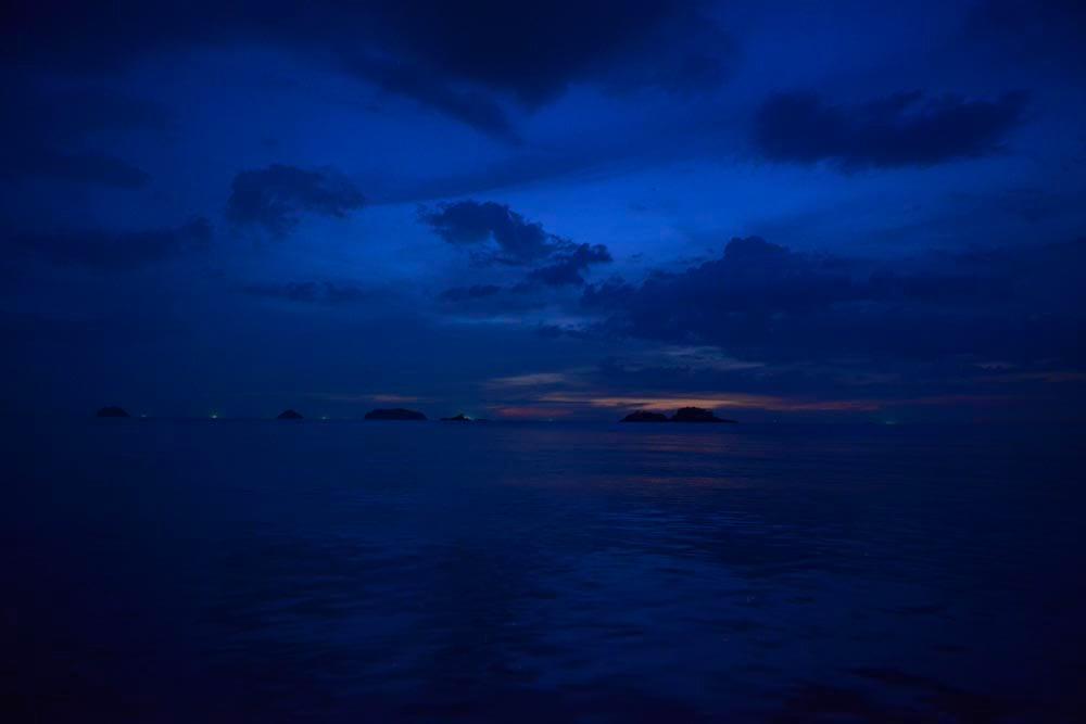 Små øyer utenfor Koh Chang i Thailand