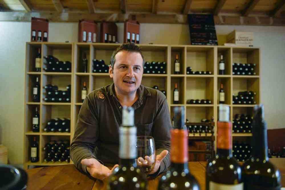 Vinsmaking i Chateau Bernateu i Saint-Emilion