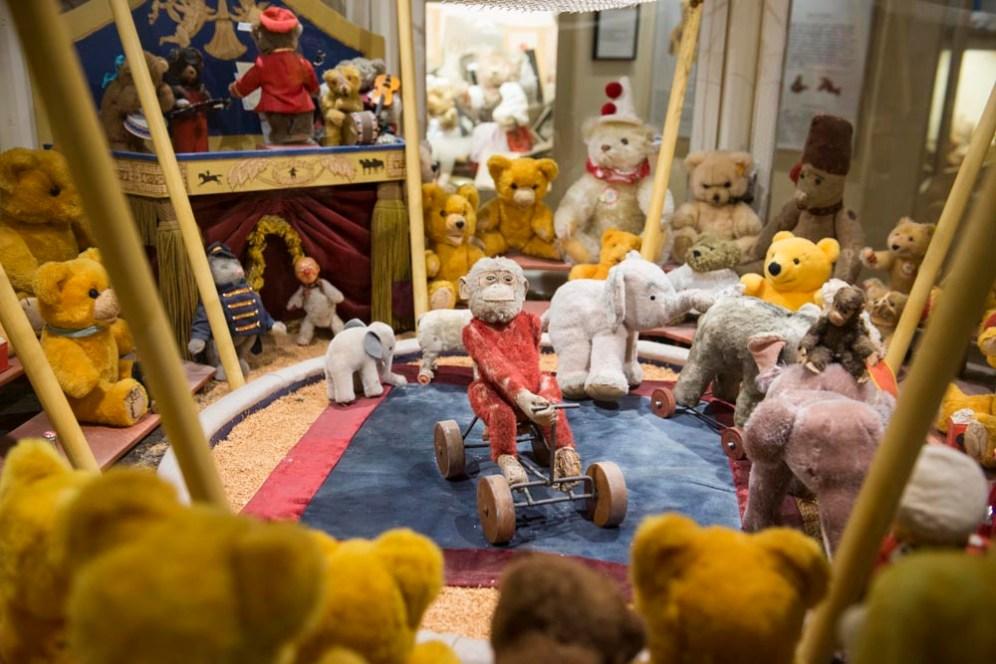 Sirkusmodell i Skagen bamsemuseum