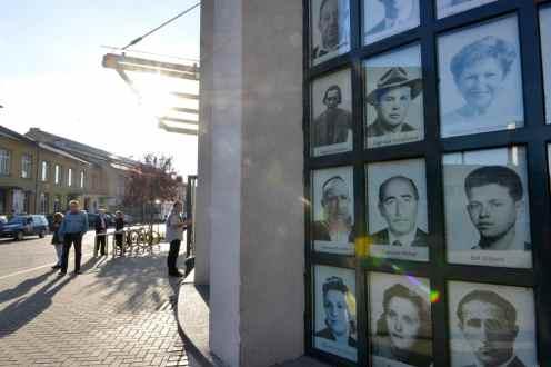 Fasaden til Schindler-museet i Krakow
