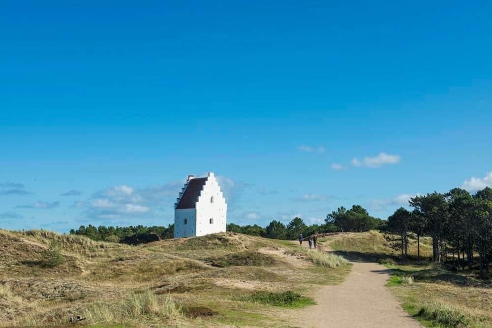 Den tilsandede kirke i Skagen