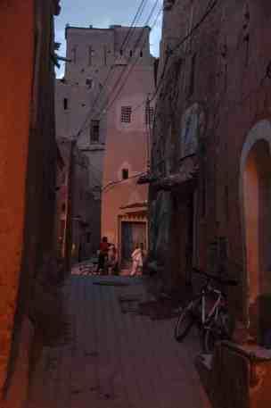 Smug i Ouarzazate i Marokko