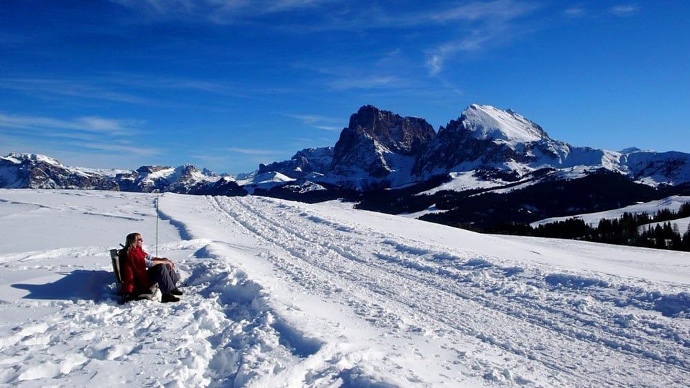 Seiser Alm i Dolomittene