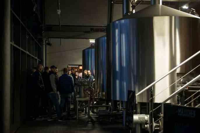 Bryggeriet Ratsherrn i Hamburg i Tyskland