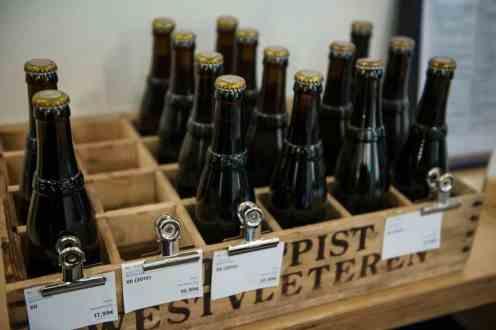 Flasker med trappistøl fra Westvleteren