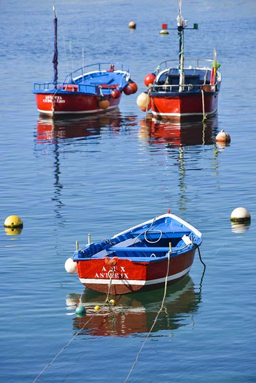 Trebåter i Asturias