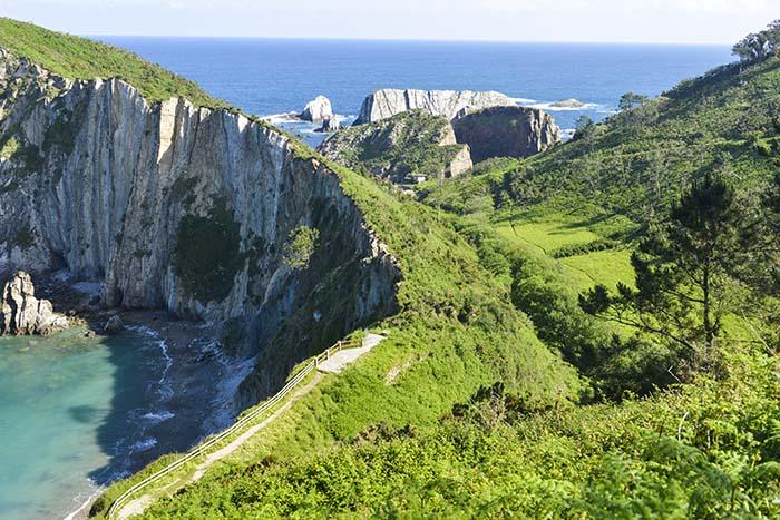 Playa del Silencio i Asturias