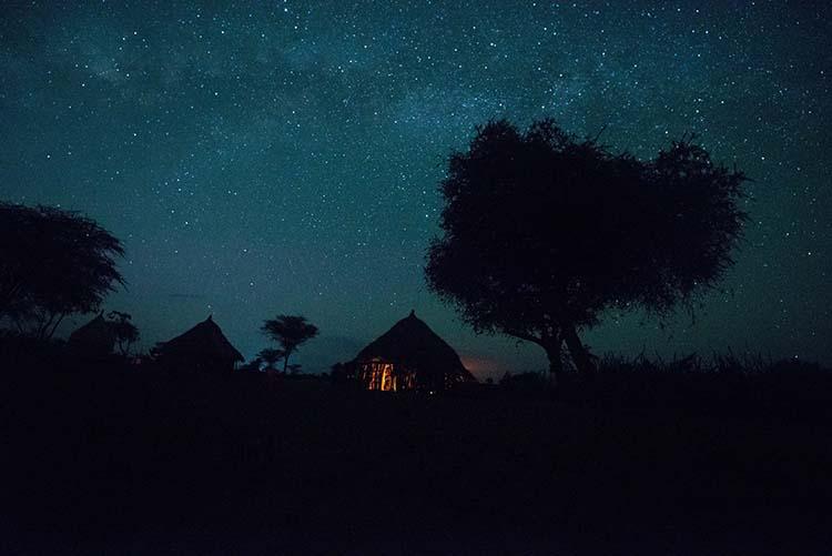 Stjernehimmel over Omodalen