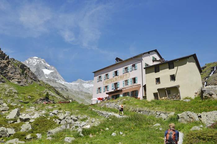 Trift Bergstauhaus i Zermatt