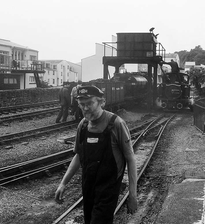 Porthmadog stasjon i Wales