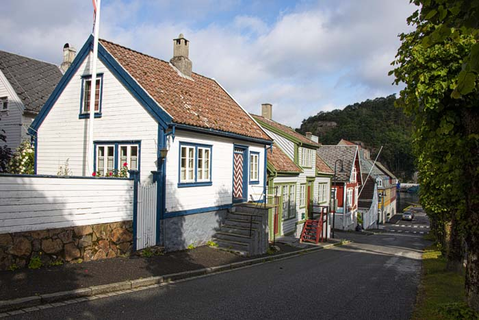 Trehus i Skriveralmenningen i Egersund