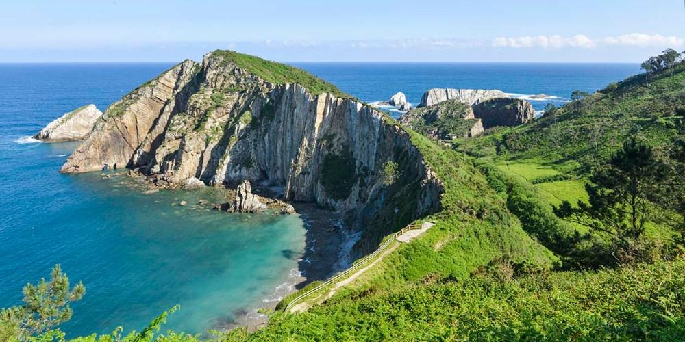 Playa de Silencio i Asturias