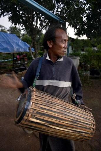 trommeslager ved Tazaungdaing