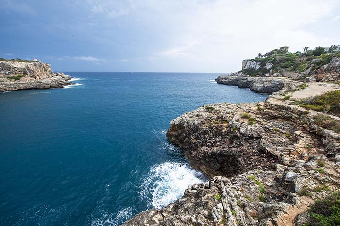 Klippene utenfor Cala Figuera