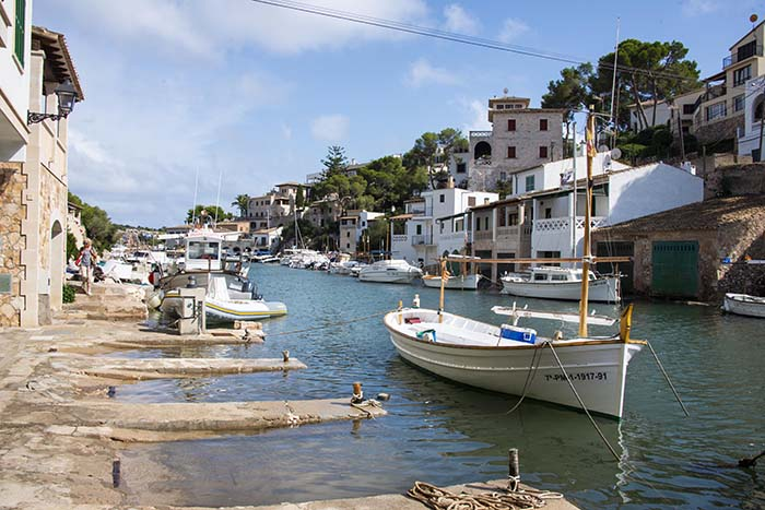 Landsbyen Cala Figuera på Mallorca