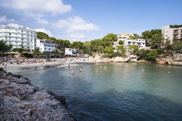 Stranda i Cala Santanyi