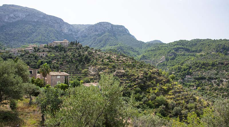 Landsbyen Deia på Mallorca