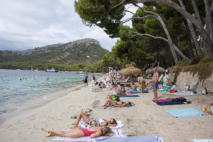 Platja Formentor på Mallorca