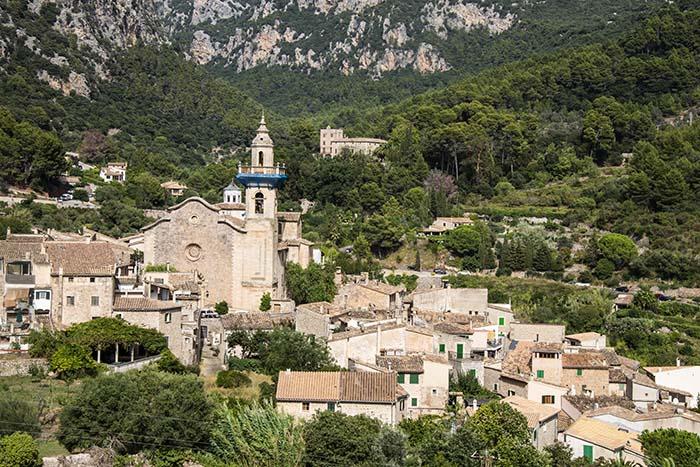 Utsikt fra Miranda des Lledoners i Valldemossa