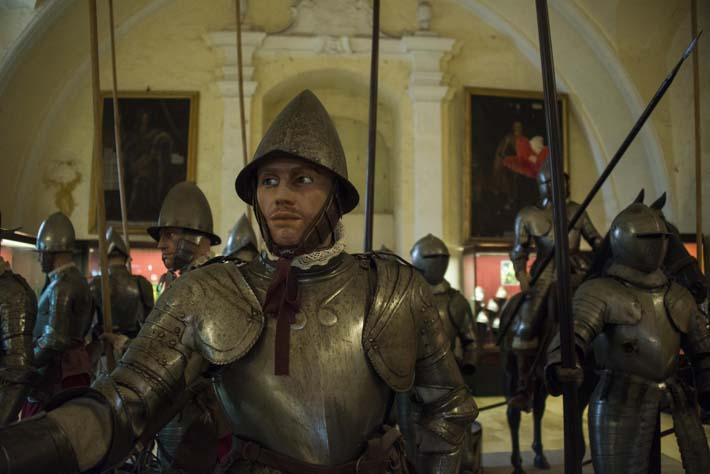 Rustninger i The Palace Armory i Grandmaster's Palace