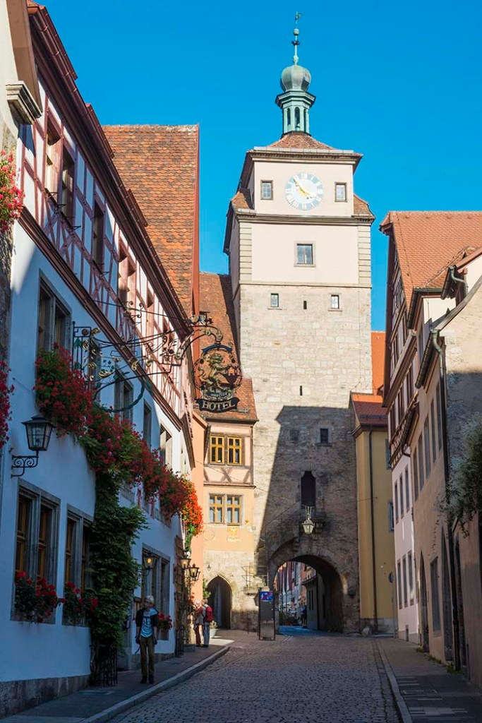 Weißer Turm i Rothenburg