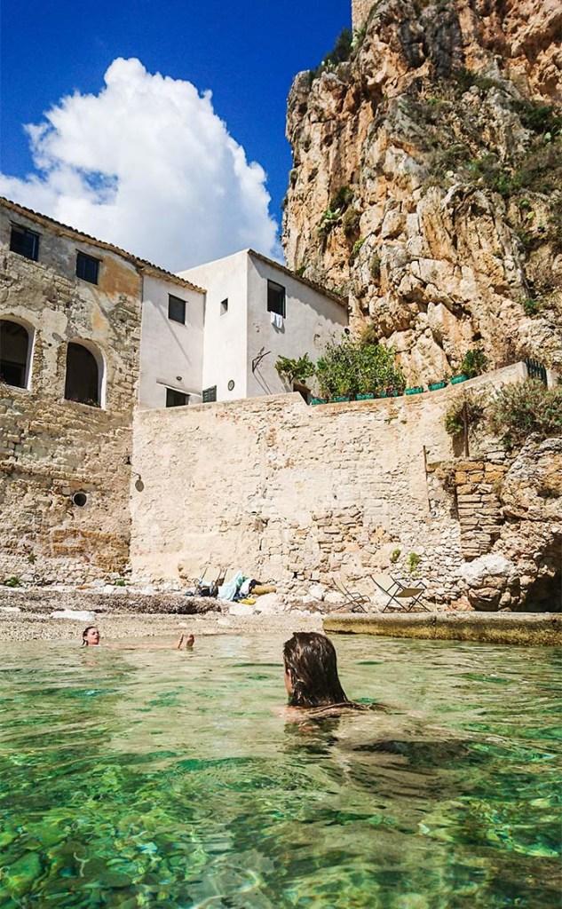 Badetur ved Sicilia